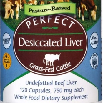 Desiccated Liver 120 Capsules