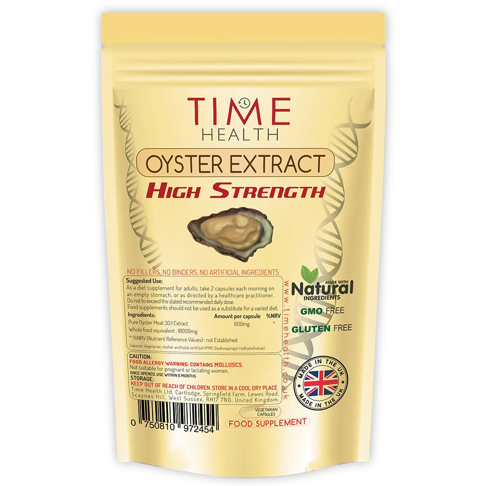 OYSTER EXTRACT 120 Capsules