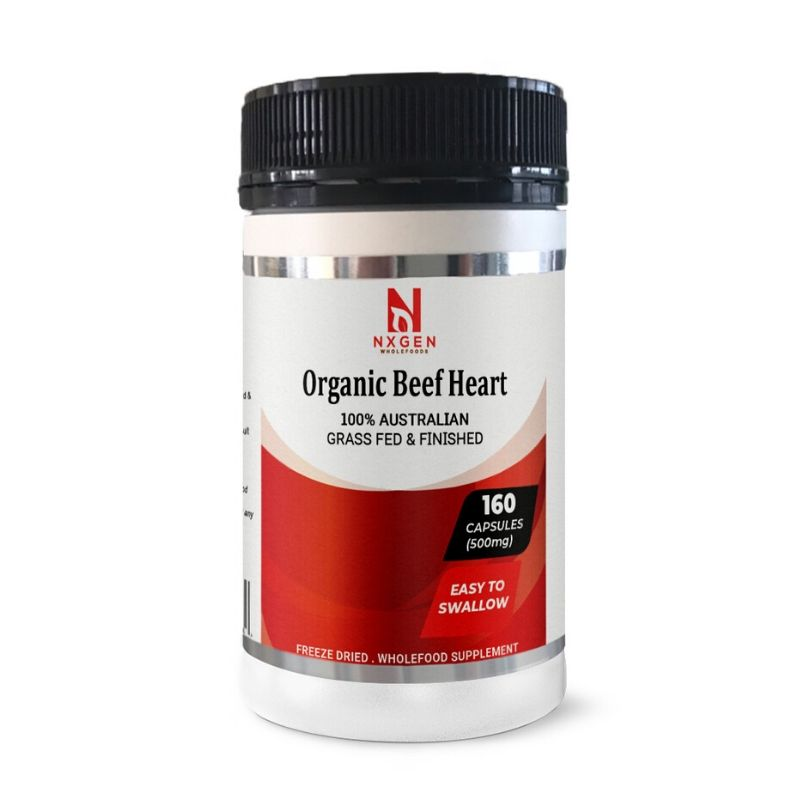 Beef Heart 160 Capsules