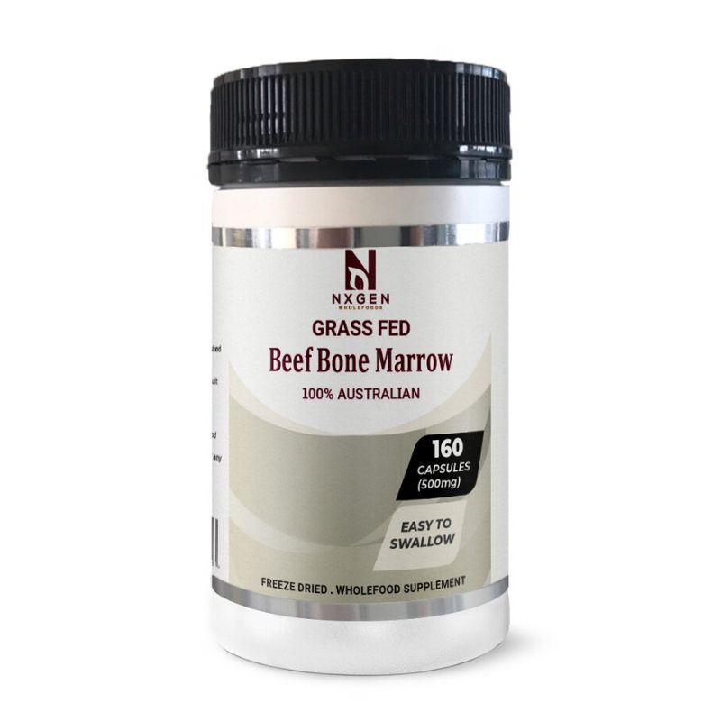 BEEF BONE MARROW 160 Capsules