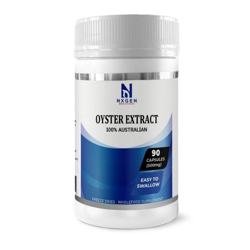 Oyster Extract 90 Capsules