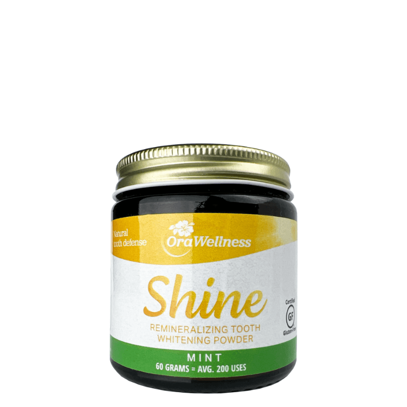 Shine Remineralizing Tooth Whitening Powder 60g ~ MINT